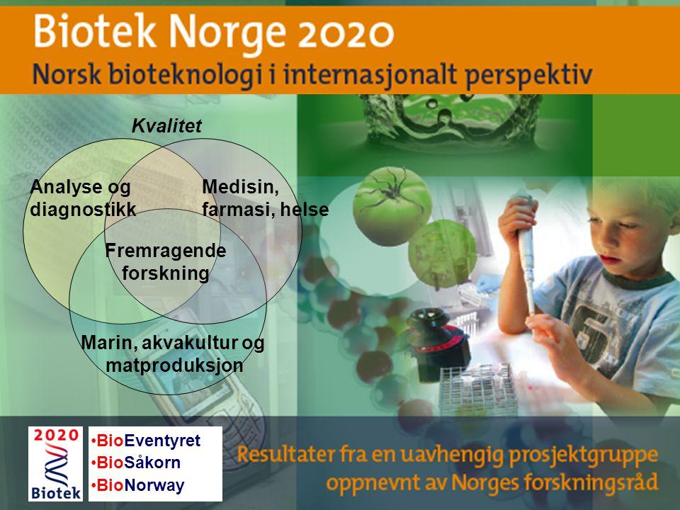 Fremragende forskning Marin, akvakultur og matproduksjon
