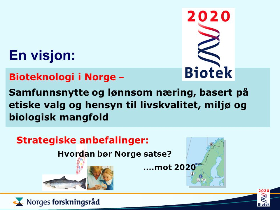 Strategiske anbefalinger: Hvordan bør Norge satse
