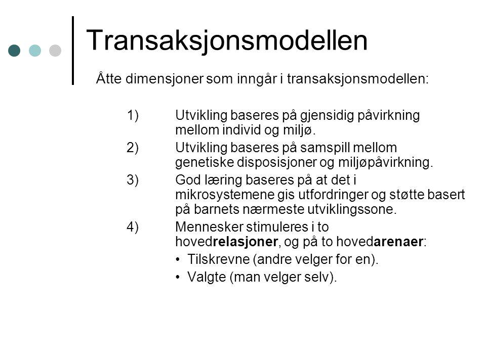 Transaksjonsmodellen