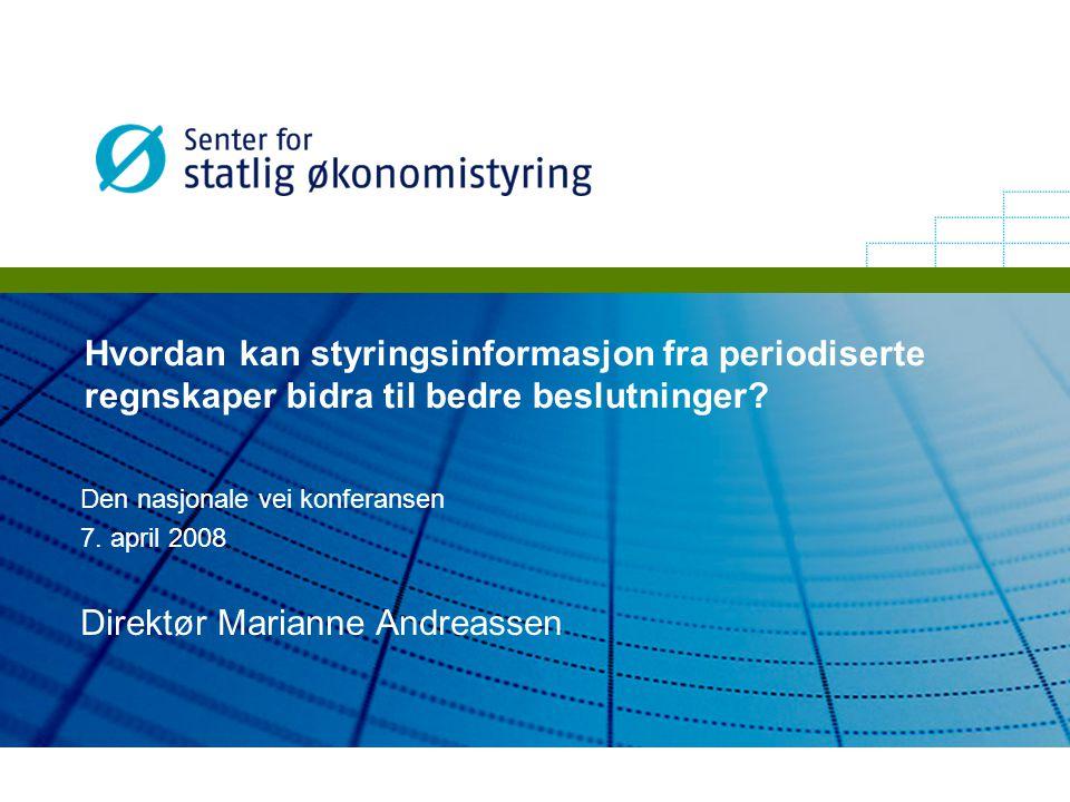Direktør Marianne Andreassen