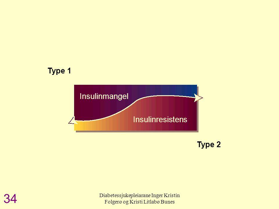 Insulinresistens og insulinmangel