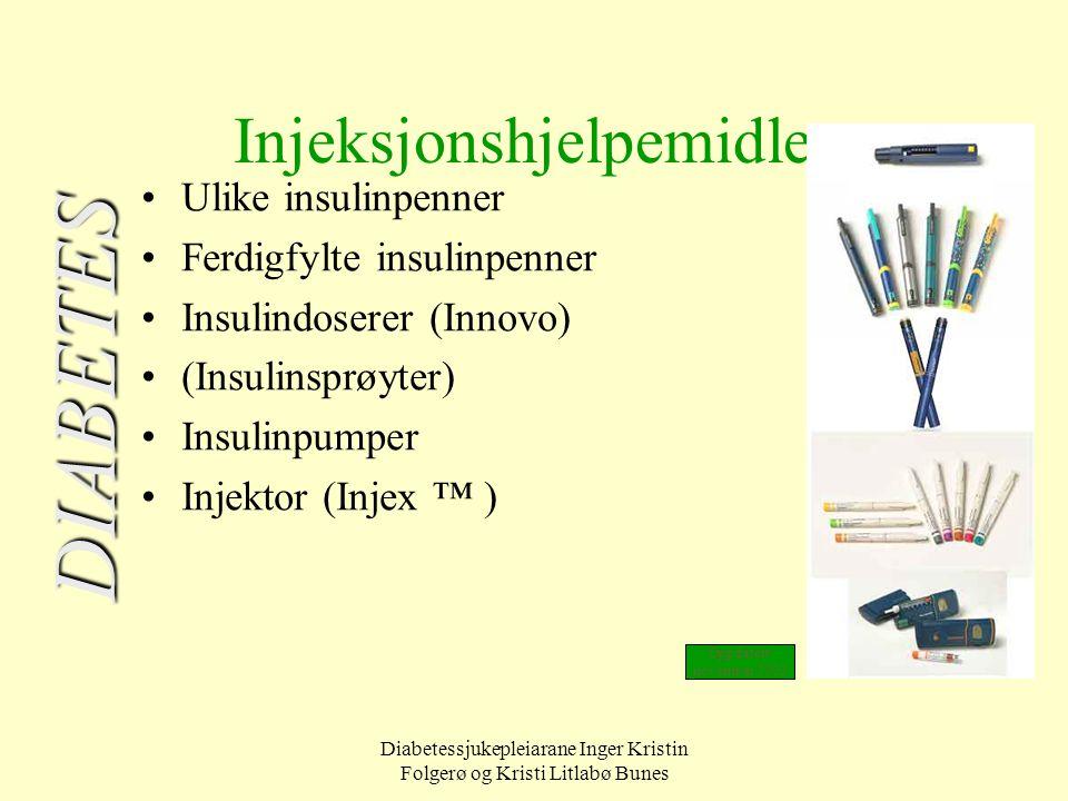 Injeksjonshjelpemidler