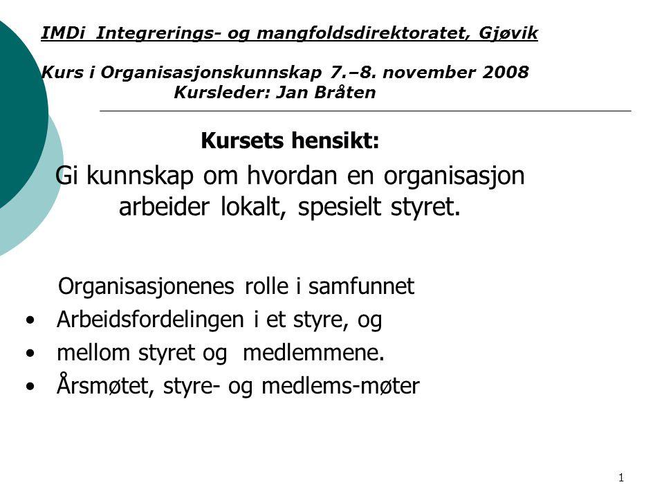 IMDi Integrerings- og mangfoldsdirektoratet, Gjøvik