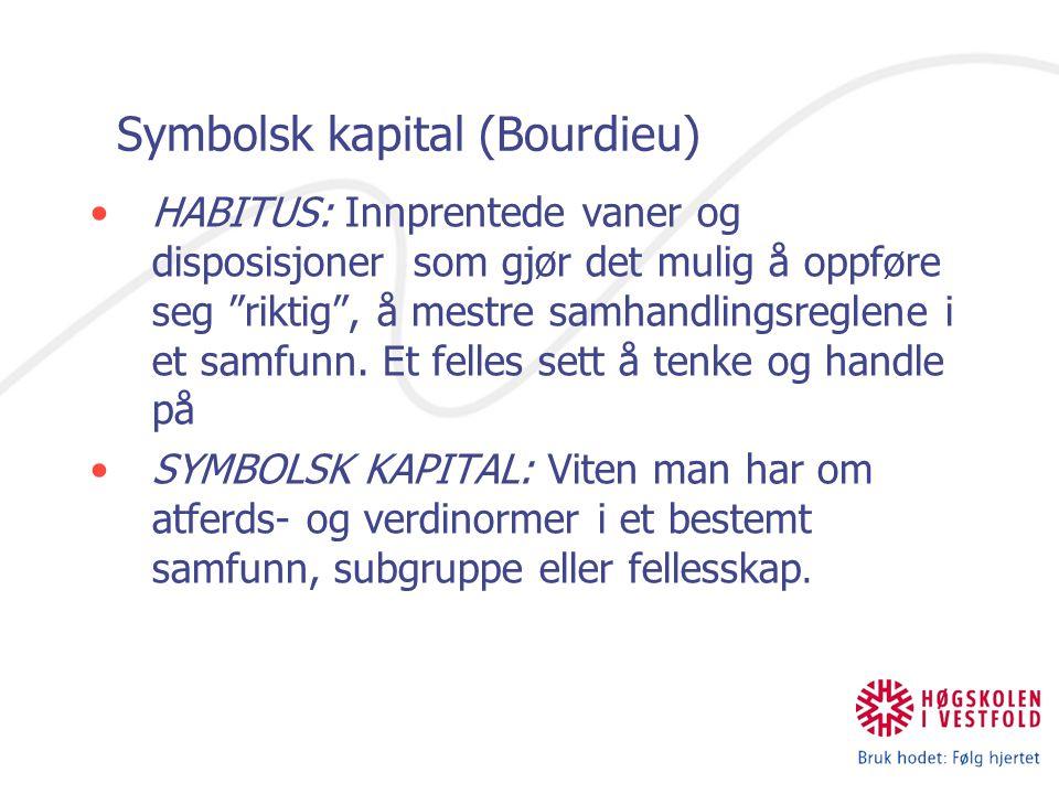 Symbolsk kapital (Bourdieu)