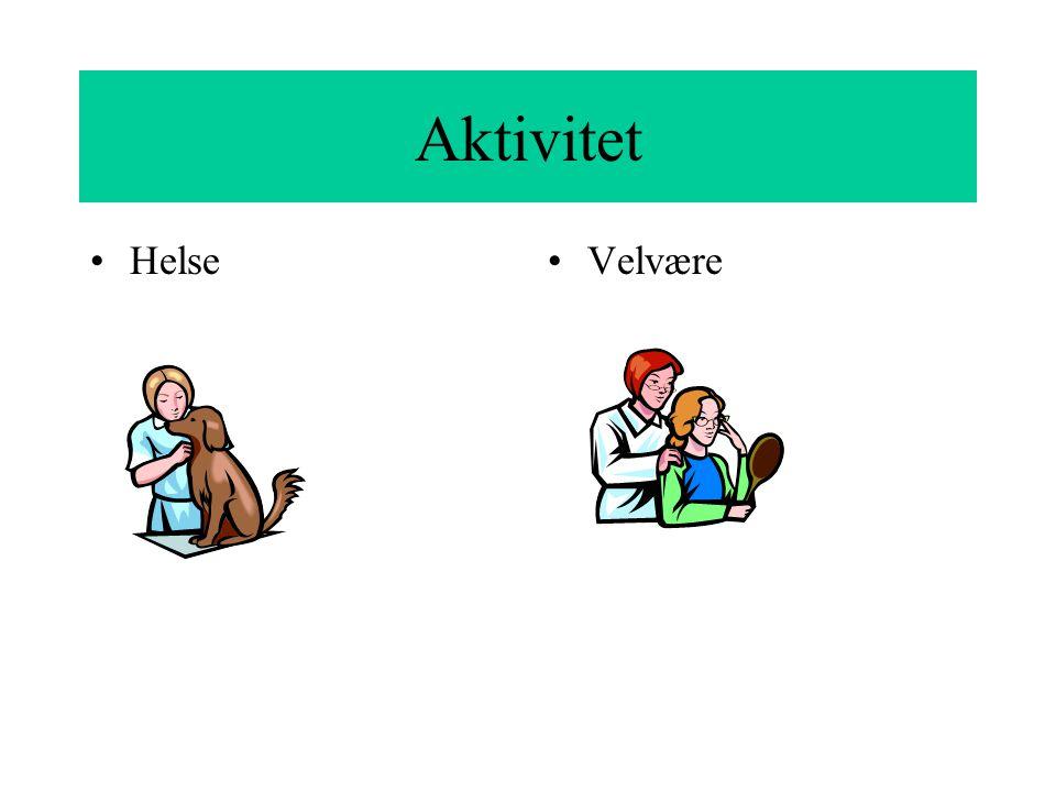 Aktivitet Helse Velvære
