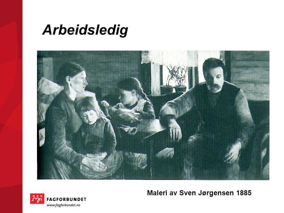 Arbeidsledig Maleri av Sven Jørgensen 1885
