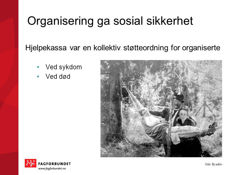 Organisering ga sosial sikkerhet