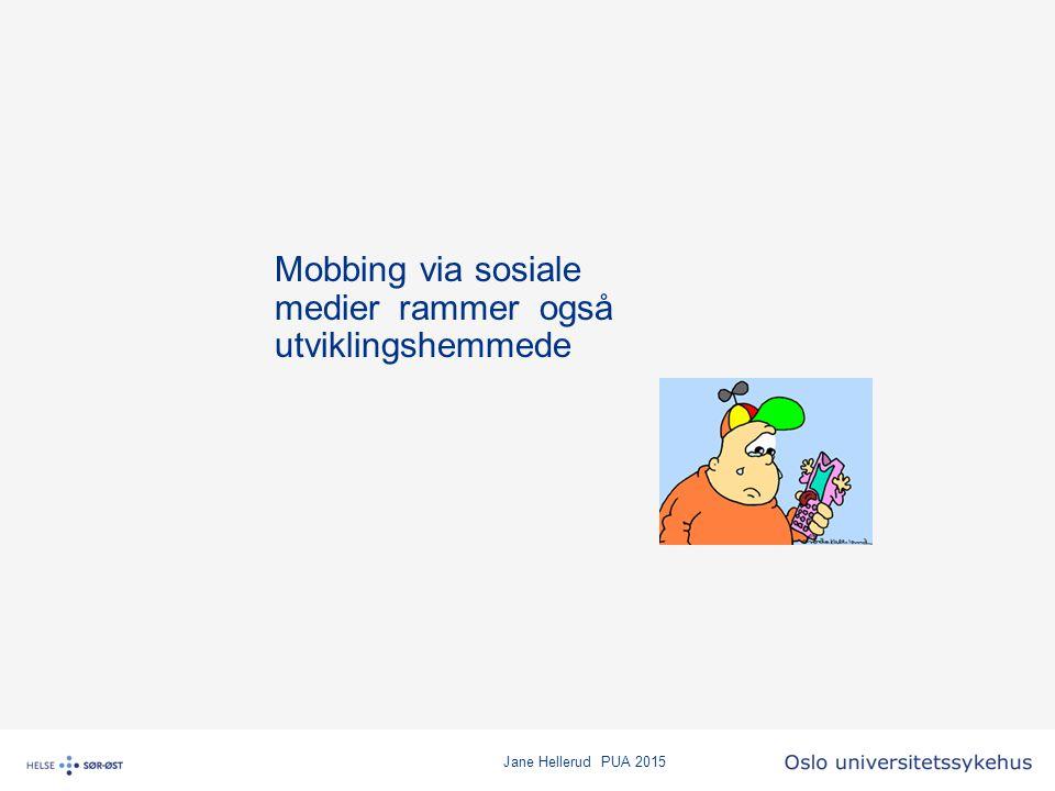 Mobbing via sosiale medier rammer også utviklingshemmede