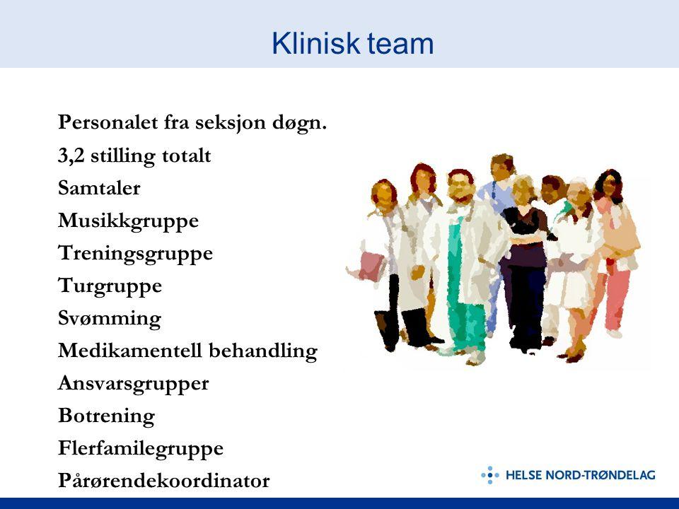 Klinisk team