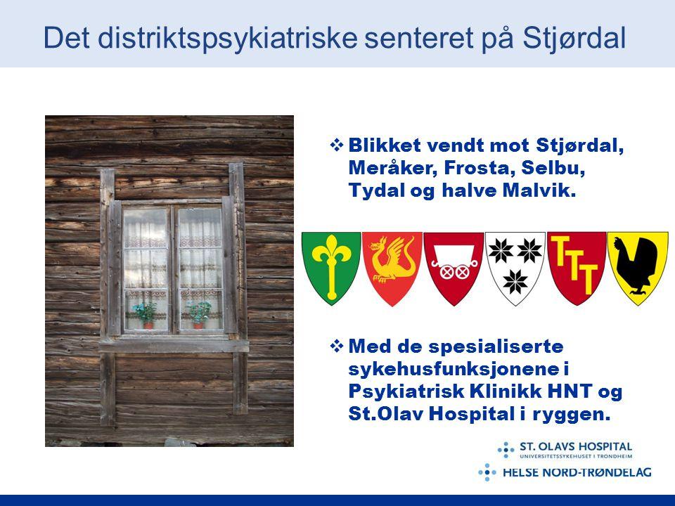 Det distriktspsykiatriske senteret på Stjørdal