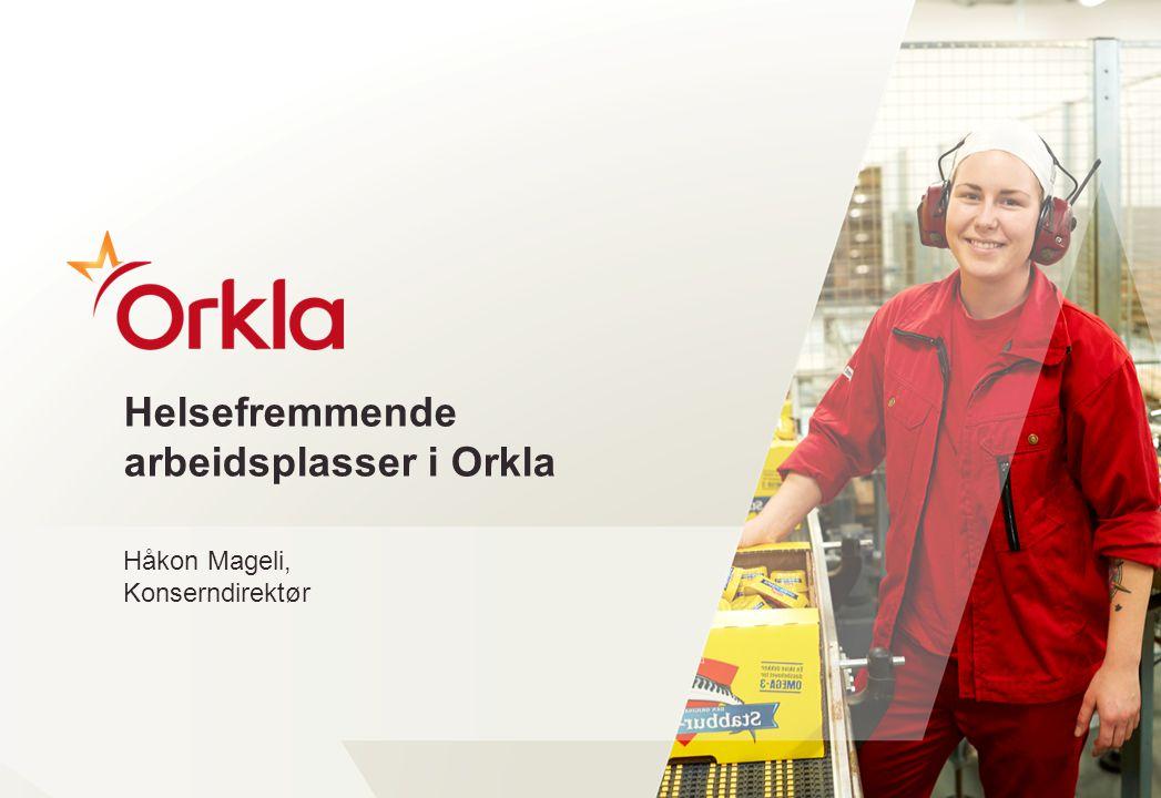 Helsefremmende arbeidsplasser i Orkla