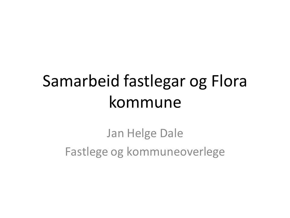 Samarbeid fastlegar og Flora kommune