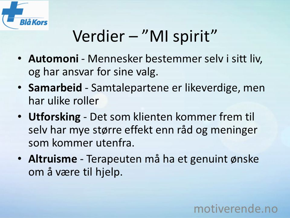 Verdier – MI spirit motiverende.no
