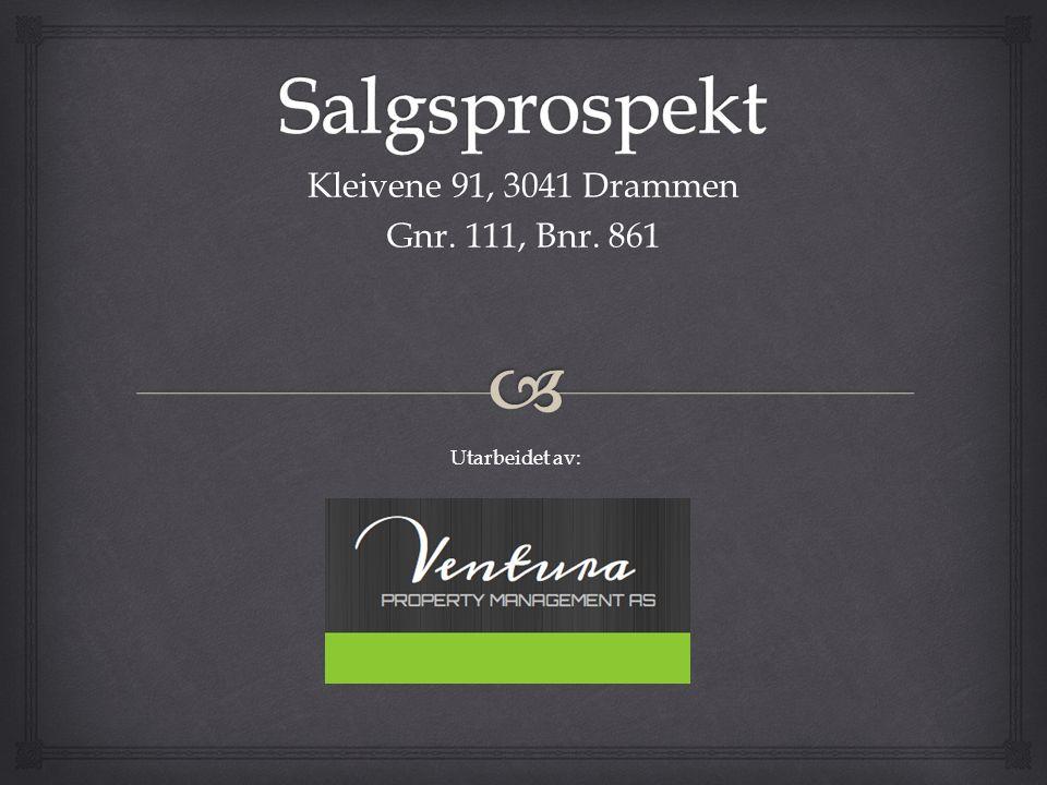 Kleivene 91, 3041 Drammen Gnr. 111, Bnr. 861