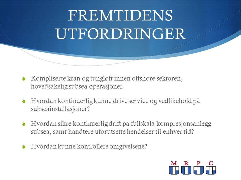 FREMTIDENS UTFORDRINGER