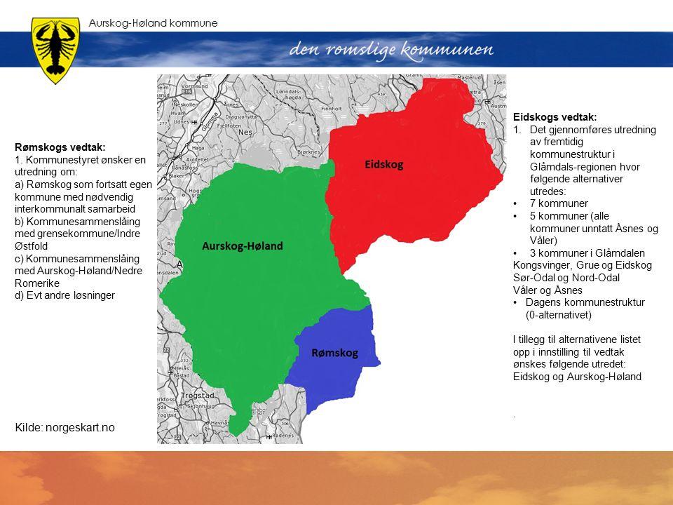 Enstemmig vedtak i kommunestyret i Rømskog 18. september 2014: