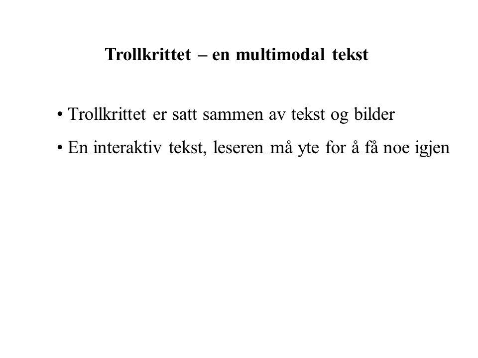 Trollkrittet – en multimodal tekst