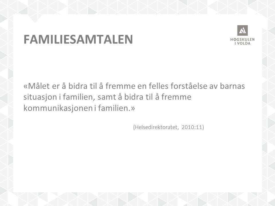 Familiesamtalen