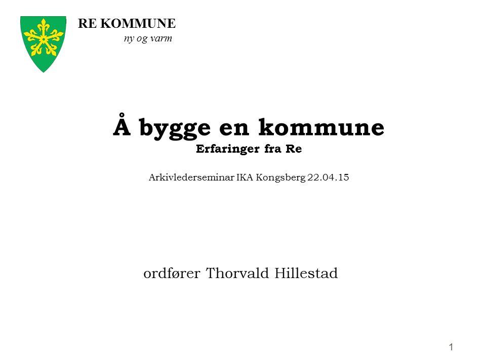 ordfører Thorvald Hillestad