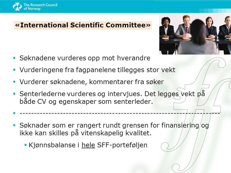 «International Scientific Committee»