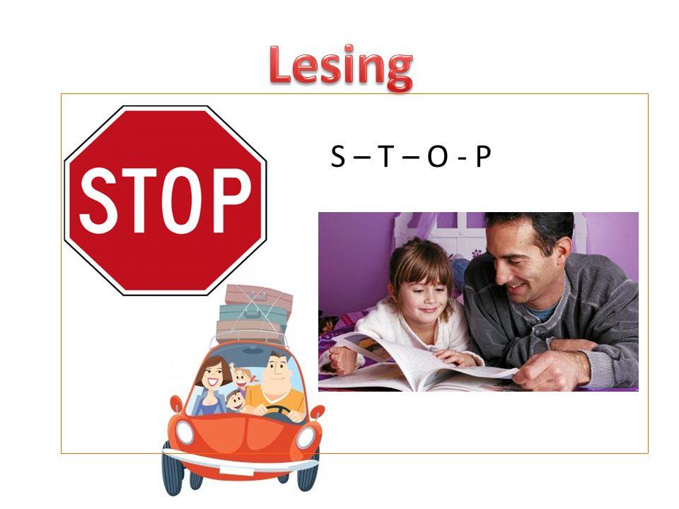 Lesing S – T – O - P