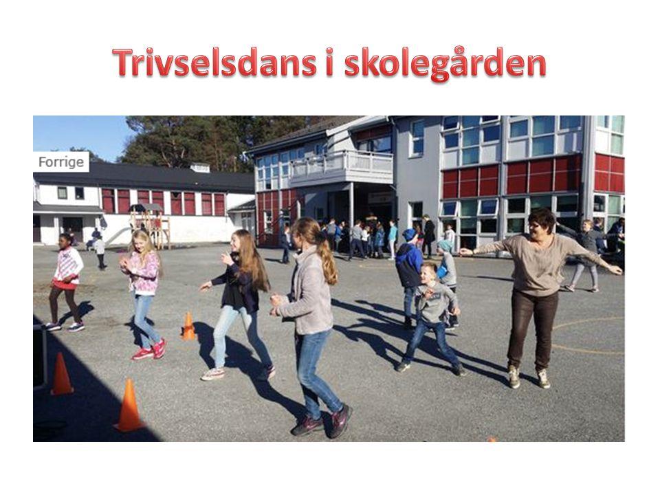 Trivselsdans i skolegården