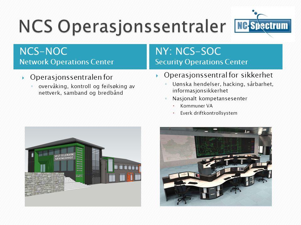 NCS Operasjonssentraler