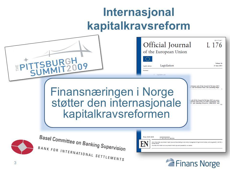 Internasjonal kapitalkravsreform