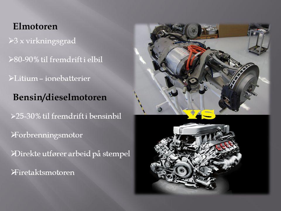 Bensin/dieselmotoren