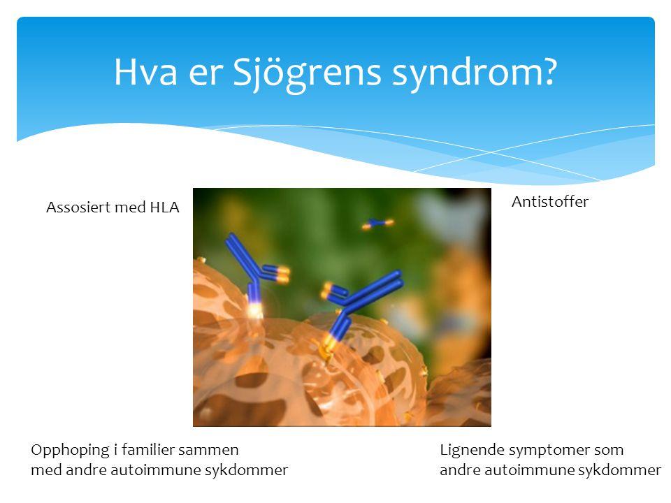 Hva er Sjögrens syndrom