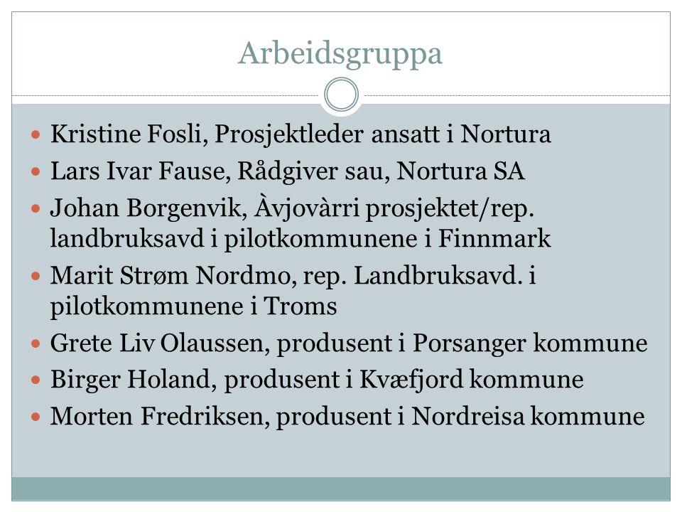 Arbeidsgruppa Kristine Fosli, Prosjektleder ansatt i Nortura