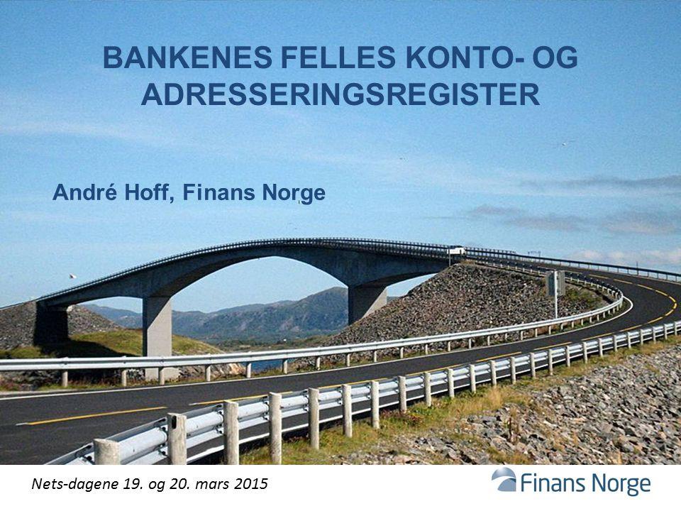 Bankenes felles konto- og adresseringsregister