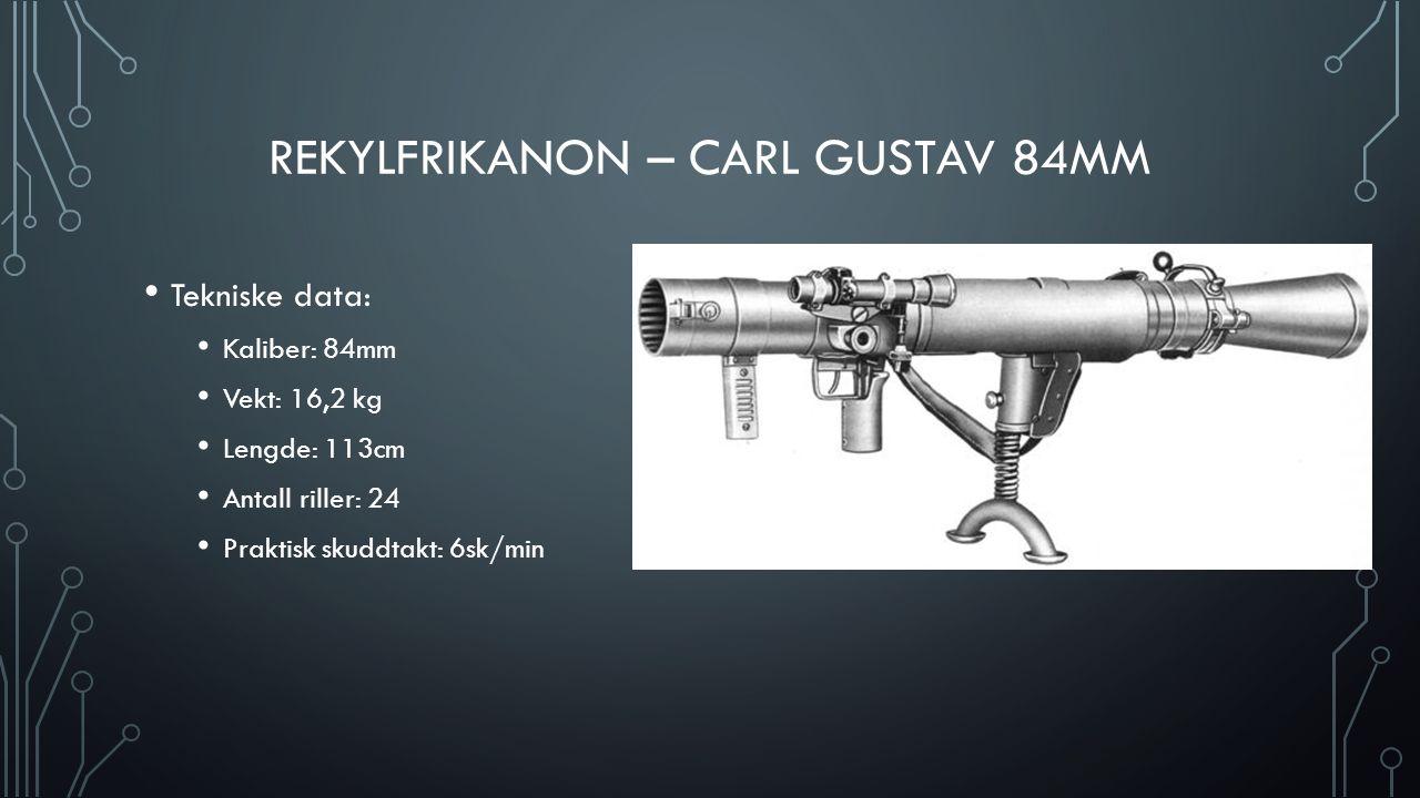 Rekylfrikanon – Carl Gustav 84mm