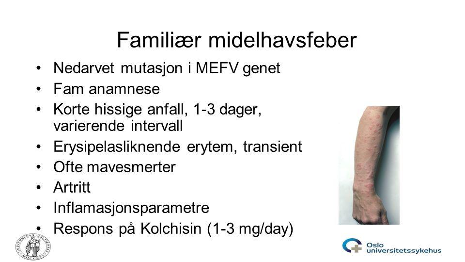 Familiær midelhavsfeber
