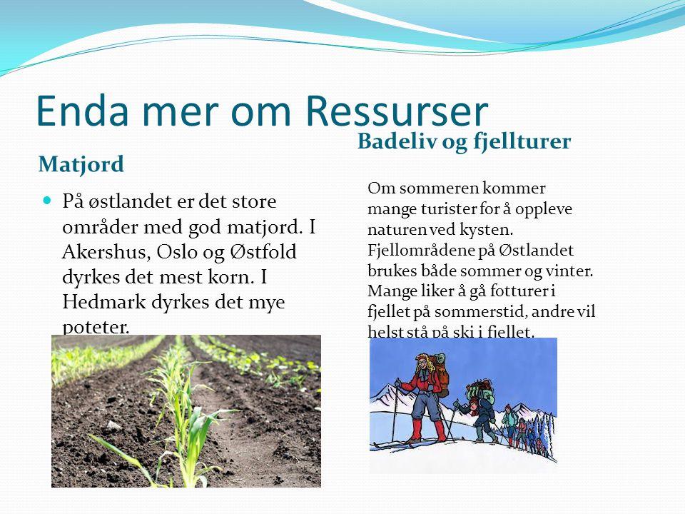 Enda mer om Ressurser Badeliv og fjellturer Matjord