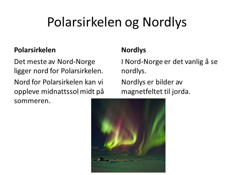 Polarsirkelen og Nordlys