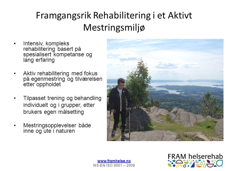 Framgangsrik Rehabilitering i et Aktivt Mestringsmiljø