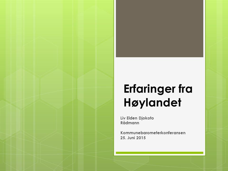 Erfaringer fra Høylandet