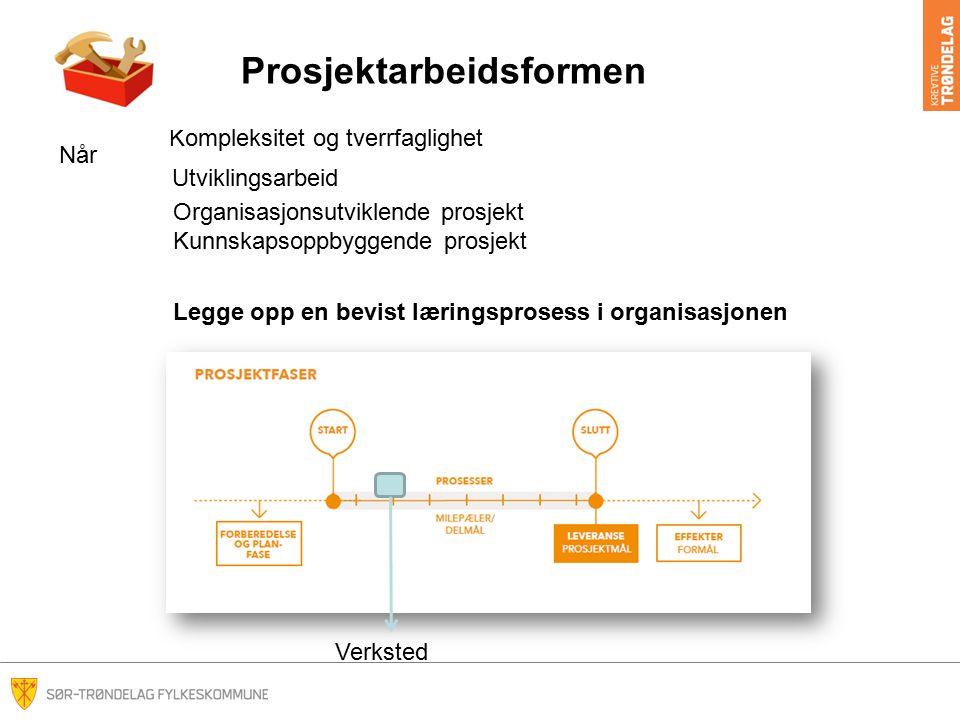 Prosjektarbeidsformen