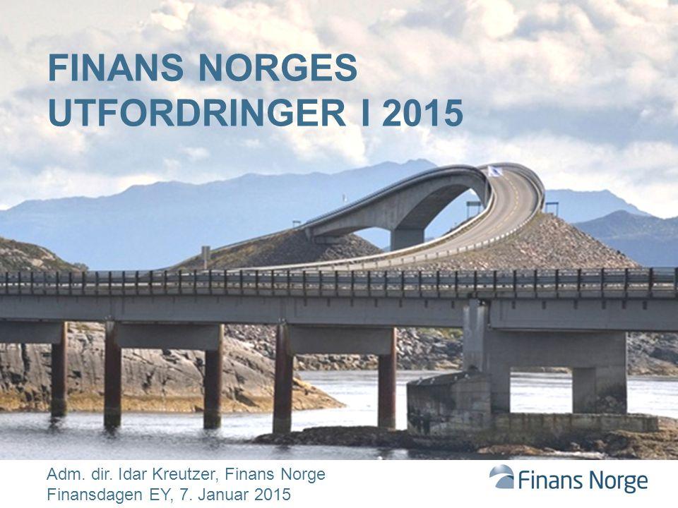 Finans Norges utfordringer i 2015