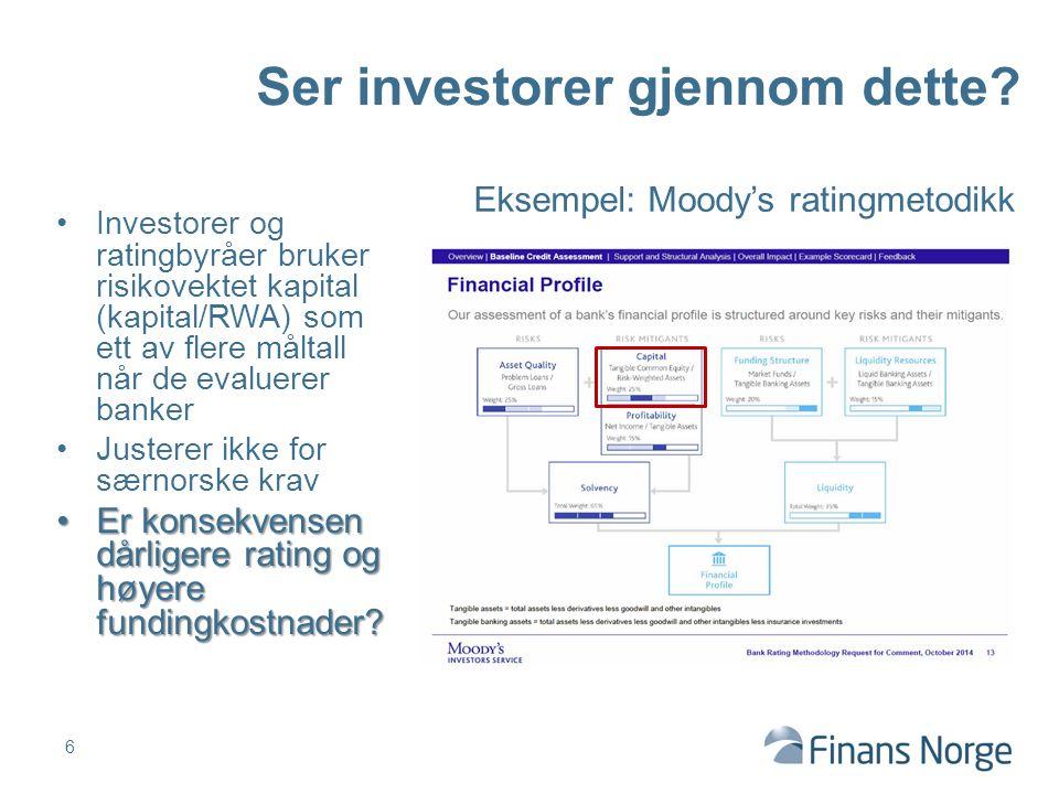 Ser investorer gjennom dette