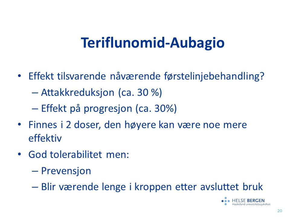 Teriflunomid-Aubagio