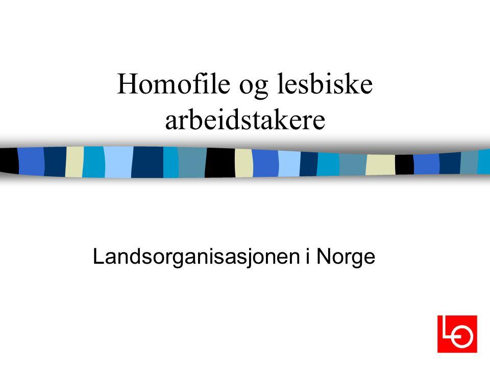 Homofile og lesbiske arbeidstakere