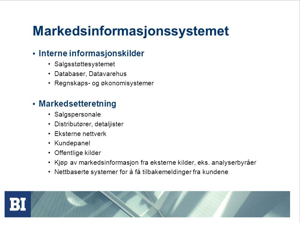 Markedsinformasjonssystemet