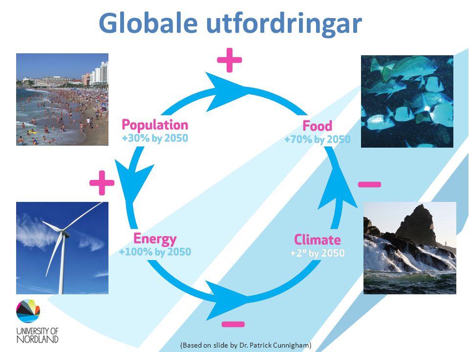 Globale utfordringar (Based on slide by Dr. Patrick Cunnigham)