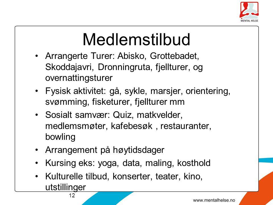 Medlemstilbud Arrangerte Turer: Abisko, Grottebadet, Skoddajavri, Dronningruta, fjellturer, og overnattingsturer.