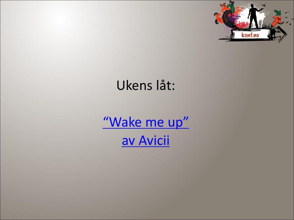 Ukens låt: Wake me up av Avicii 2
