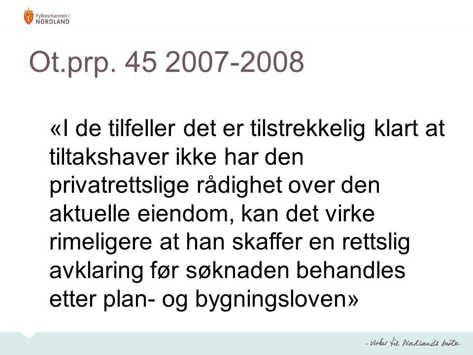 Ot.prp. 45 2007-2008