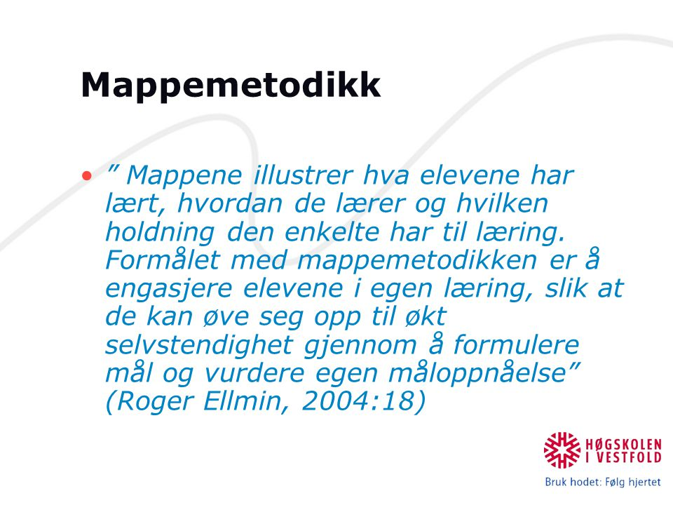 Mappemetodikk