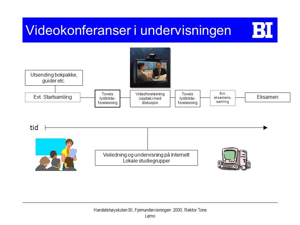 Videokonferanser i undervisningen